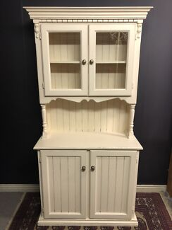 Vintage Hamptons Style Kitchen Dresser French Provincial Buffet