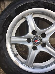 """4x 5/114.3 16x7"""" Toyota hilux alloy mags/rims with tyres (legal) Campania Southern Midlands Preview"""
