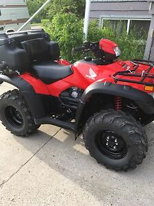 2014 Honda Rubicon ATV