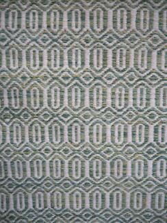New Lido Berrima Green Fairway Geometric Wool Flatweave Rugs