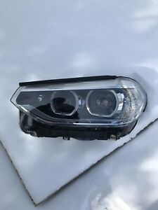 2018 BMW X3 headlight