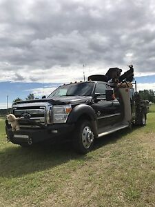 2013 Ford f550 picker truck