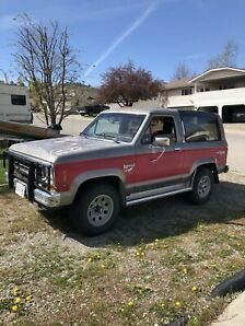1984 Bronco 2 - 2.9l FI - 4x4 - Great Shape