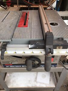 "Bench tops 10"" precision cutting system by ryobi"
