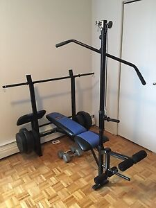 Weight set. Perfect condition