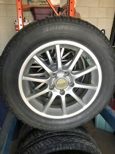 HONDA accord winter wheels and snow tires 215/60/16