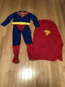 Superman Child Costume Size Small Ages 5-8