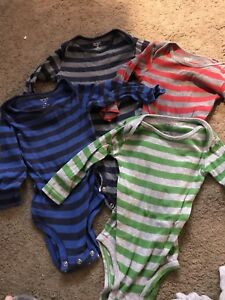Baby boy clothes lot, 6 months up to 12 months