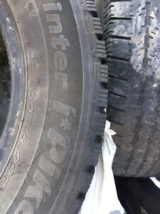 Winter tires.