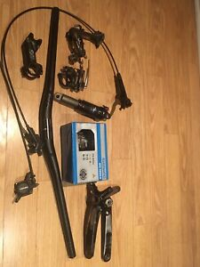 BIKE PARTS NEW AND USED
