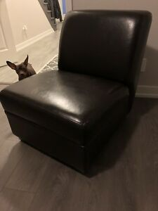 Leather accent chair Casalife
