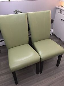 1x Faux Lime Green Dinning,Accent or Office etc.  ONE LEFT!