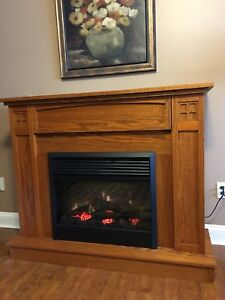 Electric fireplace-flash sale, over 50% off