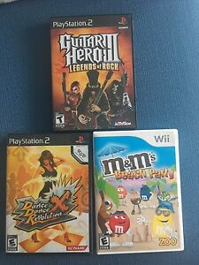 PS2 and Wii games for sale