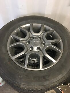 Ford ranger fx4 rims and tires