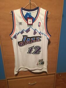 John Stockton 12 Utah Jazz NBA jersey