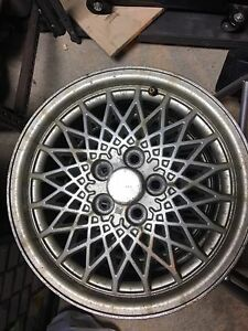 Set of 4 GM alloy rims