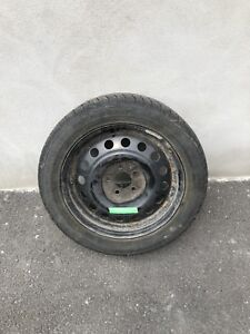 4 winter tire with steel rims - 215/55R17