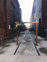 Cedar Wedding Arch (Arbor) For Rent - $300