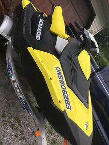 2017 SeaDoo Spark 3up with trailer!
