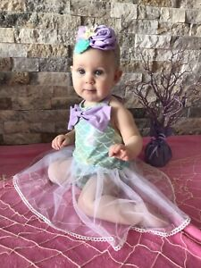 Mermaid outfit 12 months