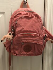 Kipling pink backpack