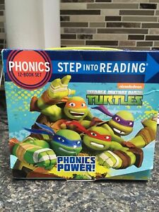 Phonics step into reading 12 book set