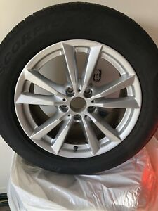 BMW 255/55/18 rims and Pirelli Scorpion Run Flat Tires