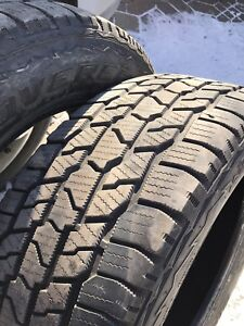 Cooper Discover 275-60-20 winter tires x2