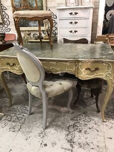Painted French Style Desk from Italy
