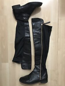 ALDO knee high leather boots SIZE 6.5