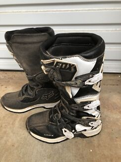 Youth Fox Mx boots - Comp 5 series