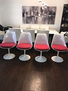 Tulip Reproduction Chairs-Set of 4