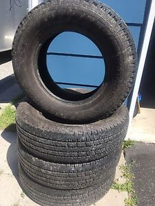 235/75/17 Hankook Dynapro AT F-150 take offs