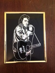 Elvis Presley Mirrored Picture