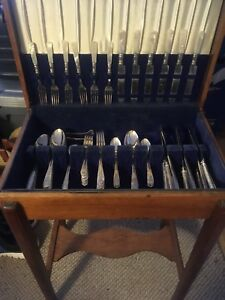 Silverware with Cabinet