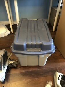 2 Storage Totes /Moving boxes