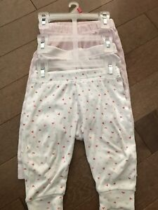 6-12m baby cotton pants 3 pieces