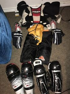 Youth hockey gear