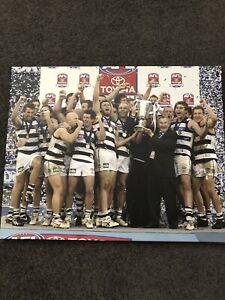 AFL Geelong cats memorabilia