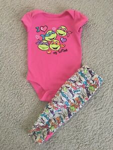 6-9m TMNT Outfit