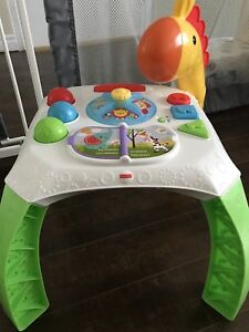 Fisher price infant learning table