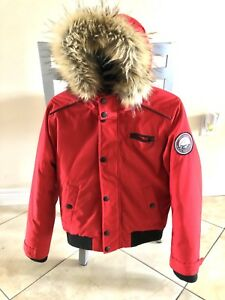 Kids Size L Down Fill bomber jacket