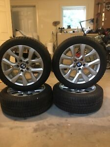 225 50R/17 Michelin X Ice snow tires