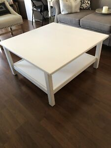 Moving Sale! White IKEA coffee table