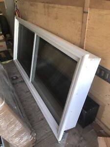 "Brand new slider window w/2"" brickmould and jamb"