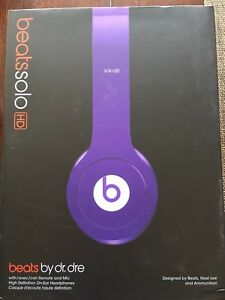 Beats by dr Dre Solo HD wired
