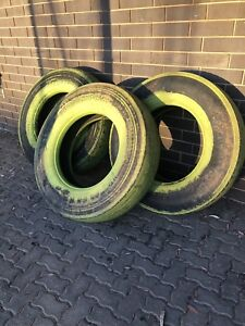 3 Large Truck Tyres