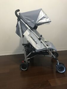 Uppababy g-link double side by side twin stroller