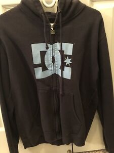 DC hooded sweater
